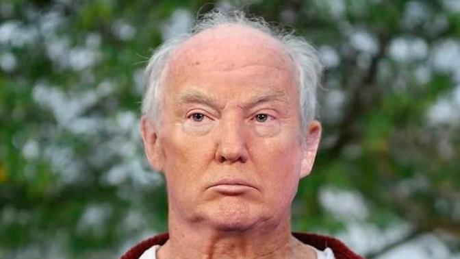 Фото лысого незагорелого Трампа рассмешило пользователей Сети