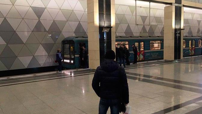 В Москве остановлено движение на участке салатовой ветки метро