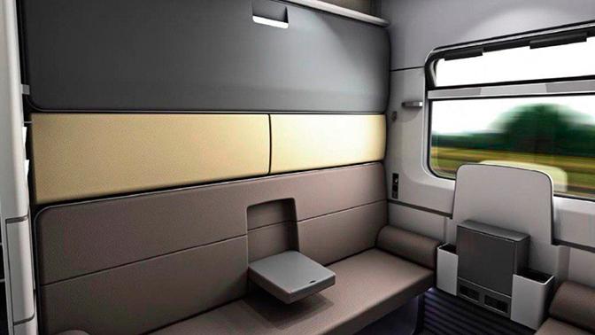 В ФПК показали новый облик одноэтажных и двухэтажных купейных вагонов