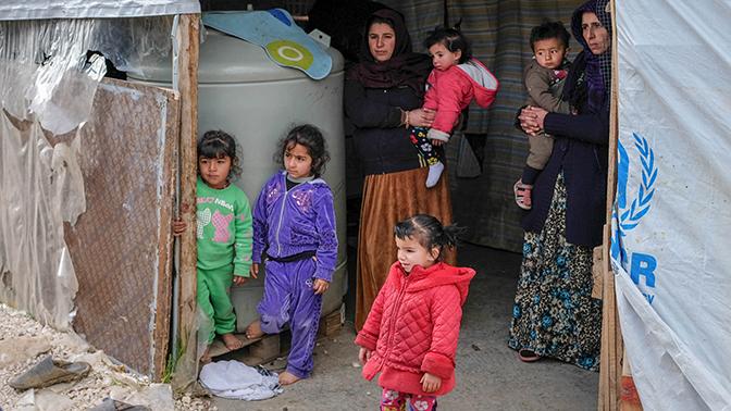 МО РФ обвинило подконтрольные США бандформирования в присваивании гумпомощи в лагере «Рукбан»