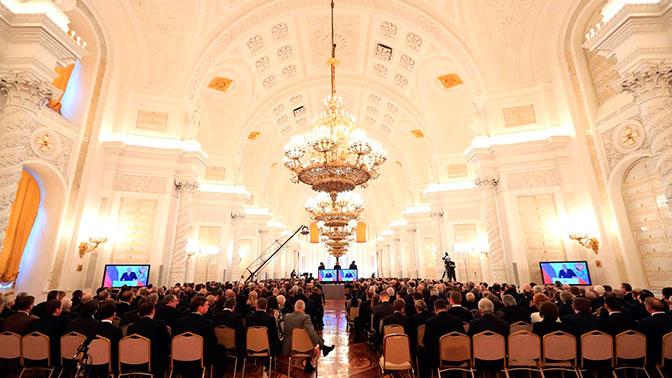 Владимир Путин огласит письмо  Федеральному собранию