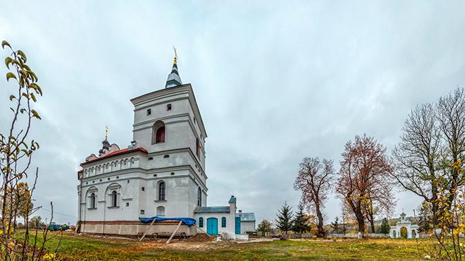 Украинский суд арестовал землю мужского монастыря УПЦ