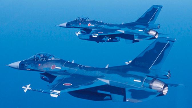 Японский истребитель-бомбардировщик F-2 пропал с радаров