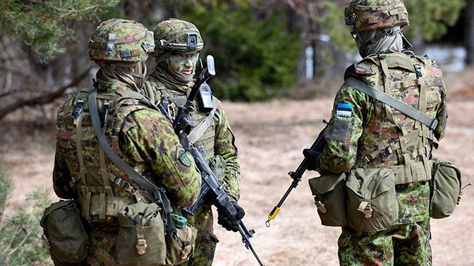 СМИ: в Минобороны Эстонии заявили о подготовке к войне