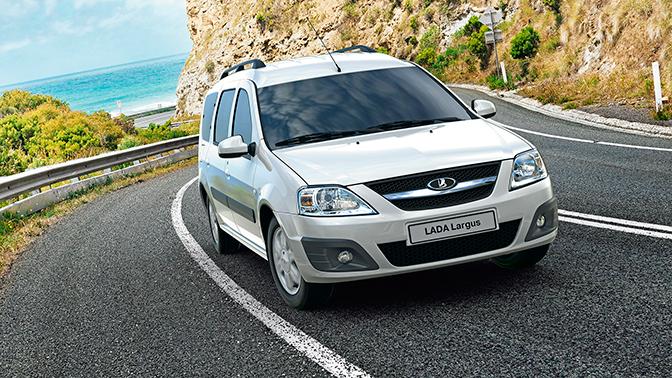 «АвтоВАЗ» представил новый биотопливный Lada Largus