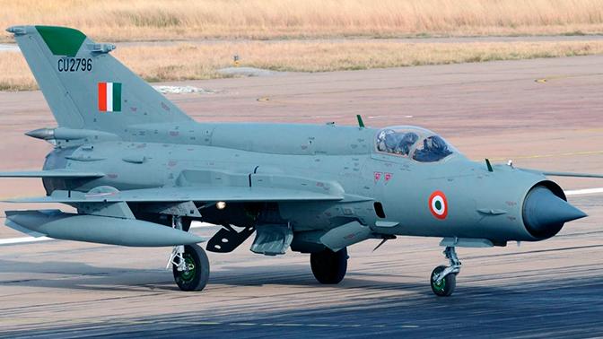 Воздушный бой в небе Кашмира: индийский МиГ-21 сокрушил пакистанский F-16