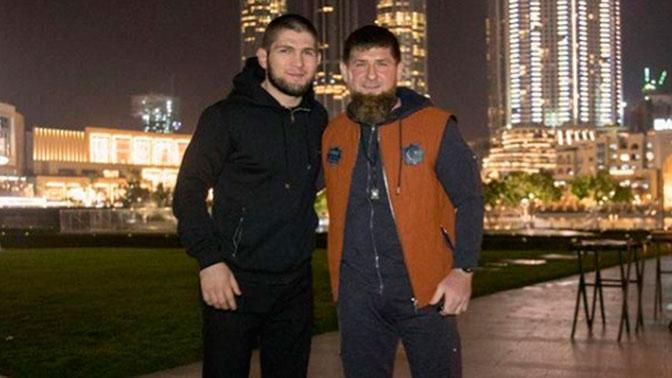 Нурмагомедов поблагодарил Кадырова за помощь дагестанским погорельцам