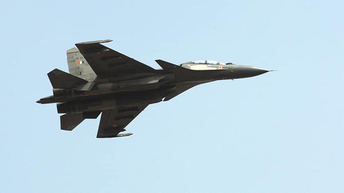Су-30 сбил пакистанский беспилотник в Индии