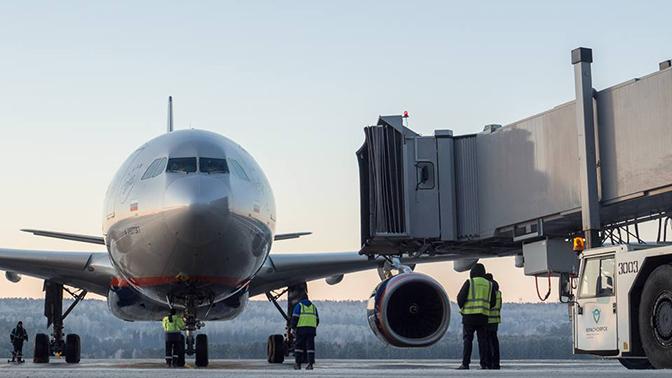 В Красноярске вынужденно сел Boeing 767, следовавший из Сургута в Таиланд