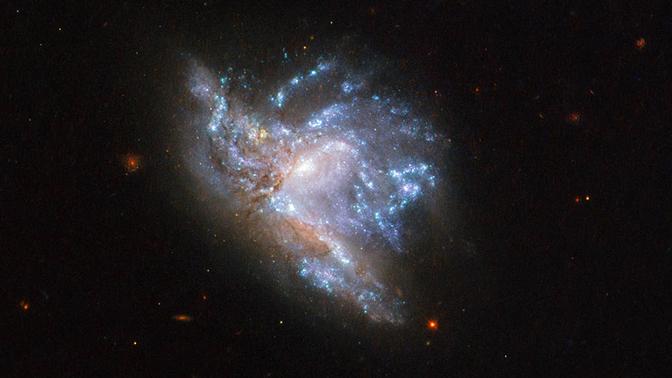 Битва титанов: ученые увидели в редчайшем столкновении галактик «предвестник» конца света