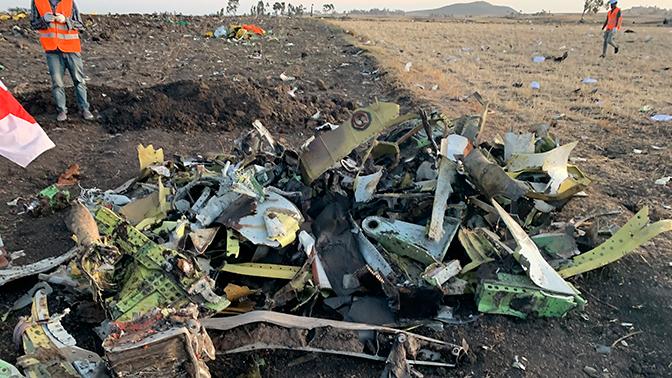 Следователи нашли неисправность у эфиопского Boeing 737 800 МAX