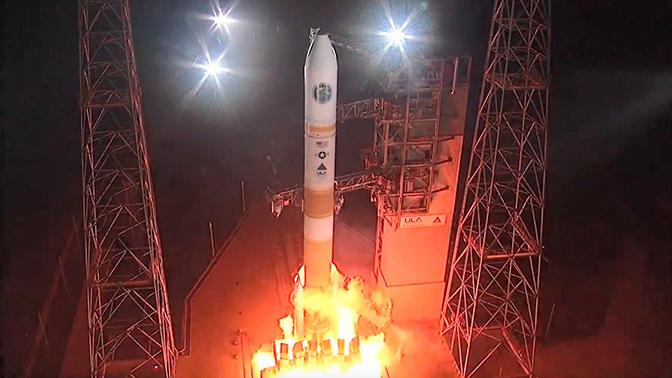 Ракета Delta 1V со спутником для ВС США стартовала с космодрома во Флориде
