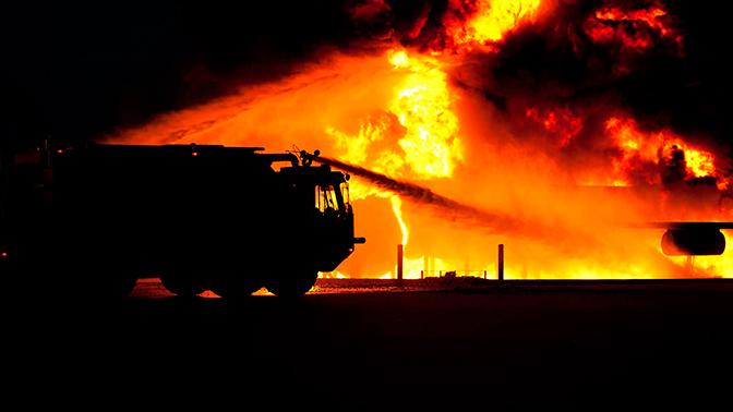 Двое детей погибли при пожаре в доме под Красноярском