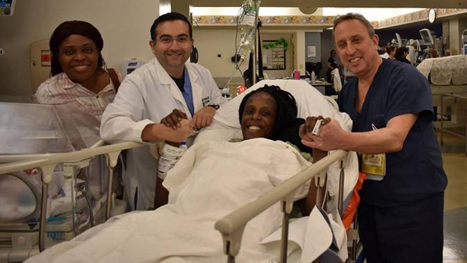 Жительница США родила шестерых детей за девять минут