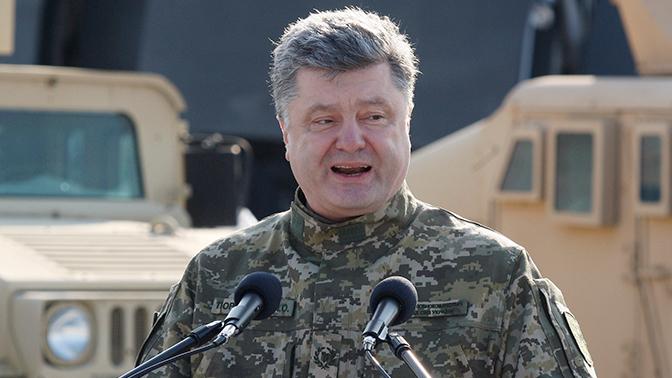Из мира фантастики: Порошенко рассказал, как ВСУ обучают военных НАТО