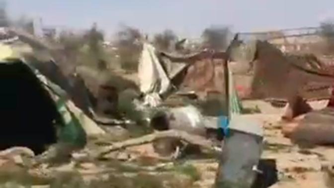 Журналисты NBC подорвались на фугасе в сирийском Багузе