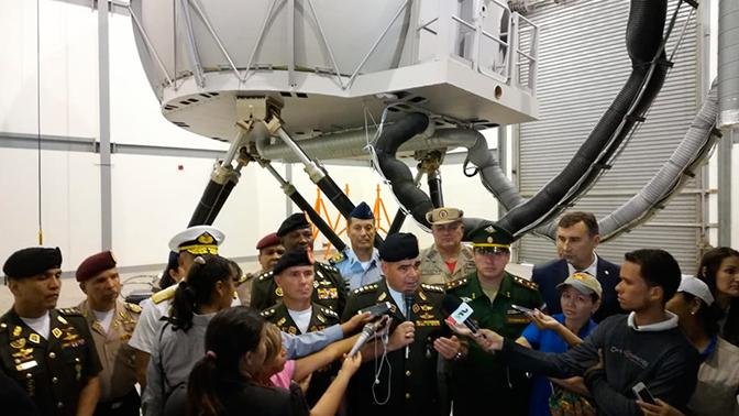 В Венесуэле открыт учебно-тренировочный вертолетный центр