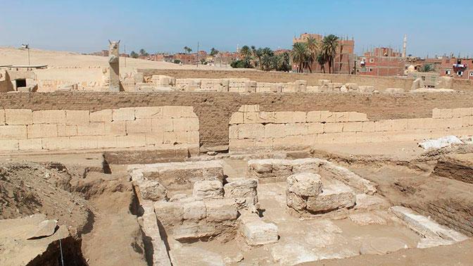 Найден затерянный дворец египетского фараона Рамзеса II