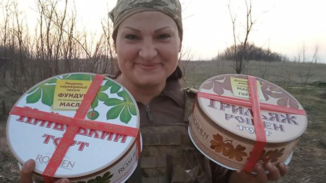 Пулеметчица «Ведьма» хвасталась тортами Порошенко за день до гибели