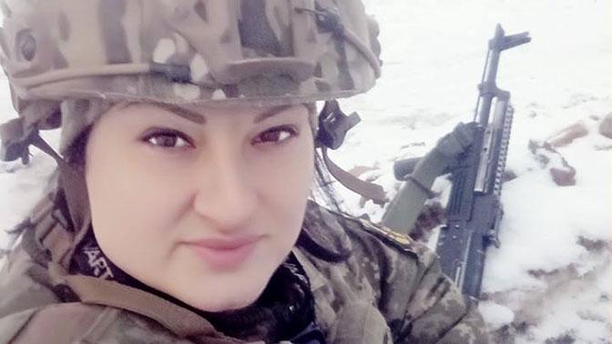 В ЛНР сообщили подробности гибели пулеметчицы с позывным «Ведьма»