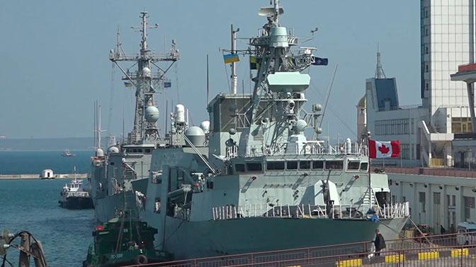 В МИД РФ заявили, что НАТО подталкивает Украину к провокациям