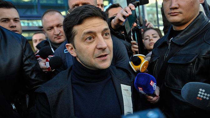 Зеленский пообещал остановить войну в Донбассе в кратчайшие сроки