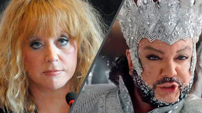 «Он превращается в дьявола»: Пугачева рассказала о нетрезвом Киркорове