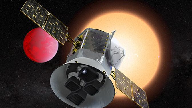 Телескоп TESS обнаружил экзопланету размером с Землю