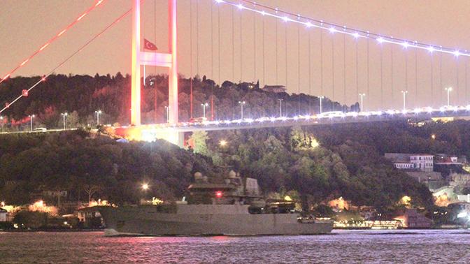 Британское разведывательное судно вошло в Черное море