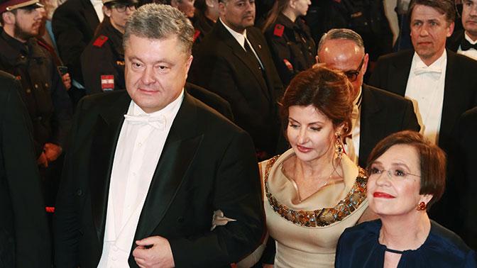 Весенний вальс Порошенко