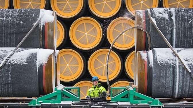Долгие газопроводы