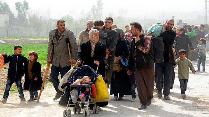 Бежавшие от войны