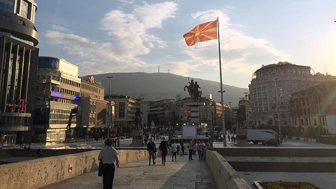 НАТО: операция «Македония»
