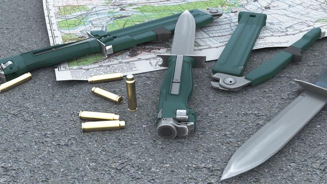 Буду резать, буду бить: стреляющий нож убивает на дальности в 25 метров