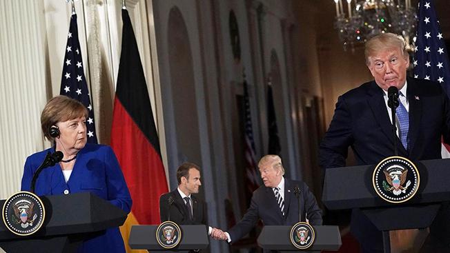 Отделить правду от вымысла: отвечают ли этой цели визиты Макрона и Меркель в Вашингтон