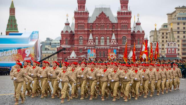 Юнармейцы готовятся к Параду Победы и летним «маневрам»