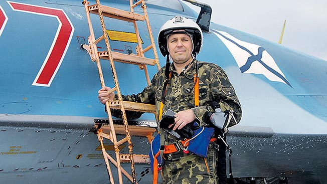 Герой России Матковский: Жить со смыслом, значит,  летать!