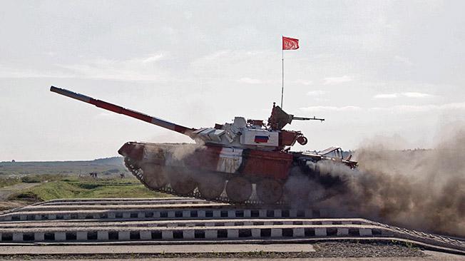 Поле боя держится на танках