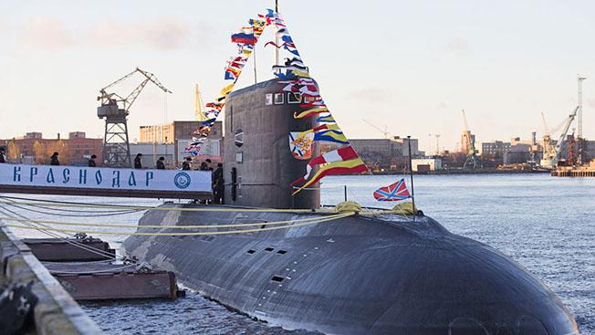 Куда отправится подлодка «Краснодар» в День ВМФ России
