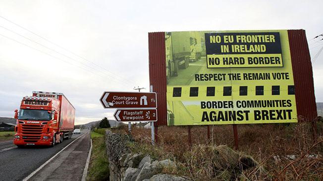 Два фактора кризиса с Brexit: граница с Ирландией и Трамп