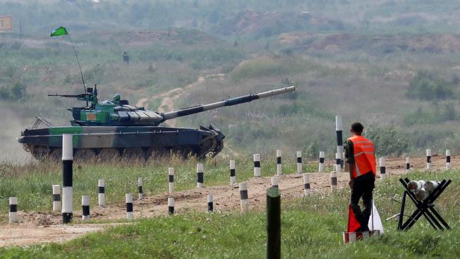 «Танковый биатлон»: Киргизия и Белоруссия упрочили свое положение