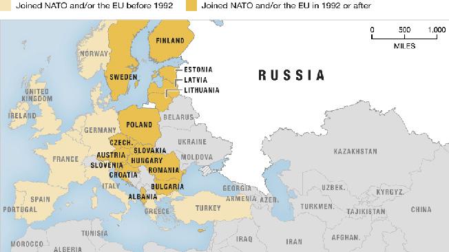 Что остановит продвижение НАТО на восток? «Кинжалы», «Авангарды», «Буревестники»