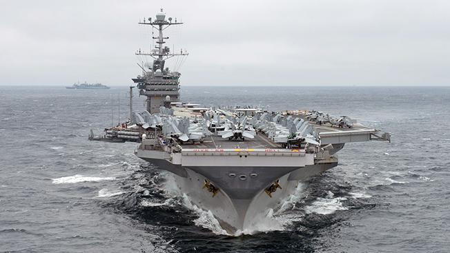Контр-адмирал Виктор Свиридов: «США у берегов Сирии своей силой демонстрируют свое бессилие»