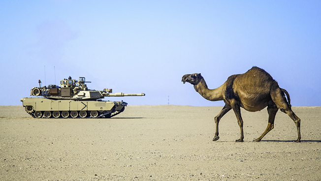Как американский «Абрамс» навсегда увяз в песках пустыни