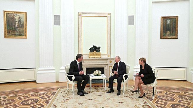 Елена Гуськова: «Сербия стремится усидеть на двух стульях»