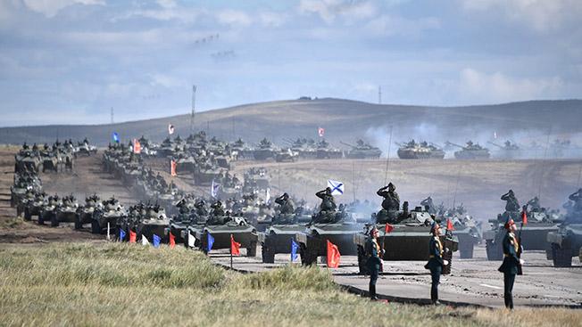 Учения «Восток-2018» показали всему миру грозную боевую мощь нашей армии