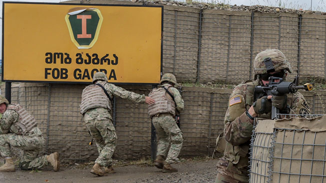 Кавказский полигон для НАТО