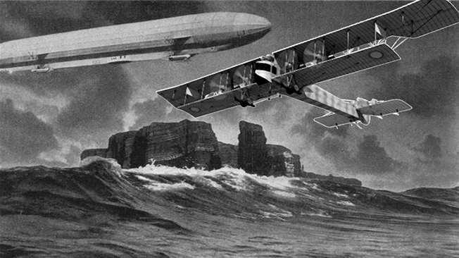 Цеппелину так и не удалось «догнать» Сикорского