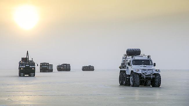 Северный флот укрепляется в Русской Арктике