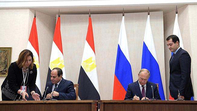 Константин Макиенко: «Египет не откажется от русского оружия»